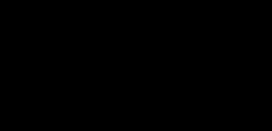 Small vaxjo kommun logotyp liggande svart